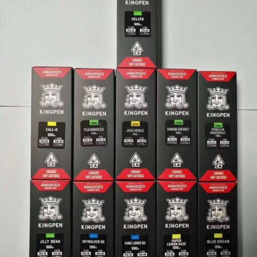 King Pen vape cartridge